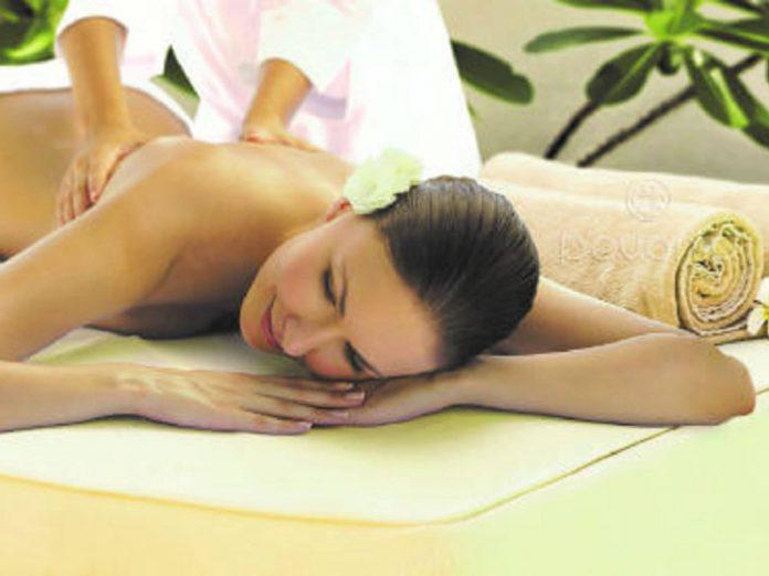 Spa Treatment on woman